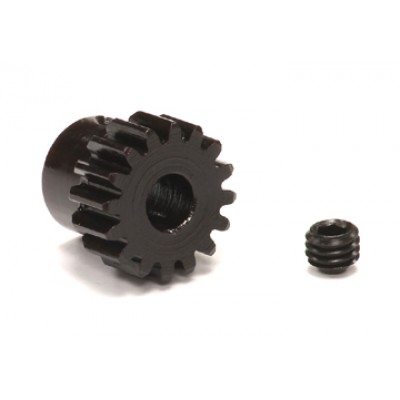 Integy RC Toy Model Hop-ups C23771 HD Billet 32 Pitch, MOD 0.8 Steel Pinion 16T for BL Applications w/ 5mm Shaft