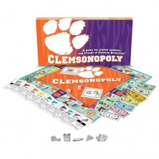 Clemson University - Clemsonopoly Board Game   563244272