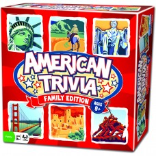Outset American Trivia: Family Edition   552044637