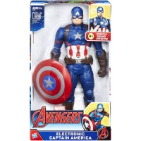 "Marvel Avengers 12"" Electronic Captain America   557811937"