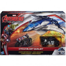 Marvel Avengers Age of Ultron Cycle Blast Quinjet Vehicle   554139894