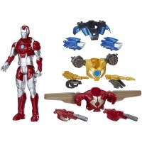 Marvel Titan Hero Series Iron Man Combat Pack   557811772