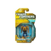 Transformers Hunt for the Decepticons Gold Bumblebee Mini Figure