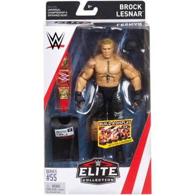 WWE Elite Collection Series # 55, Brock Lesnar Figure   569587762