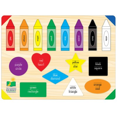 The Learning Journey Lift and Learn Colors and Shapes   551943631