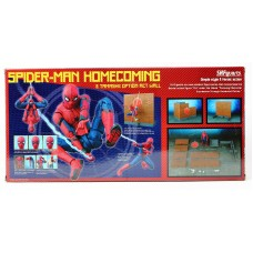 US SH Figuarts Spider-Man Homecoming Action Figure Option Wall Tamashii Nations