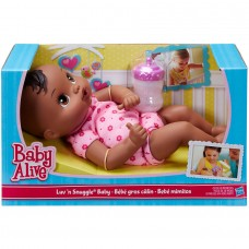 Baby Alive Luv 'n Snuggle Baby - Black Hair   554649605