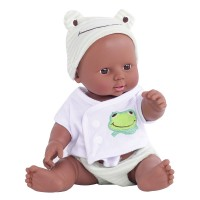 DZT1968 Baby Emulated Doll Soft Children Reborn Baby Doll Toys Boy Girl Birthday Gift