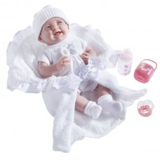 "JC Toys La Newborn 15.5"" Soft Body Baby Doll Gift Set Deluxe Boutique - White Outfit   568348013"