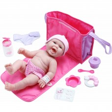"La Newborn 13"" Life-Like All-Vinyl Baby Doll Diaper Bag and Accessory Gift Set   553962914"