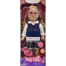 My Life As 18-inch Schoolgirl Doll, Blonde   562901729