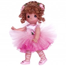 Precious Moments Dolls by The Doll Maker, Linda Rick, Tu-Tu Precious, Ballerina, Brunette, 12 inch doll   566943397