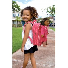 "Badger Basket Doll Travel Backpack - Pink/Star - Fits American Girl, My Life As & Most 18"" Dolls   552639248"