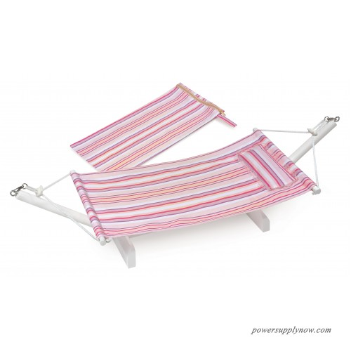 Badger Basket Portable Doll Hammock With Travel Bag Summer