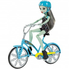 Monster High Boltin' Bicycle Frankie Stein Doll & Vehicle   556736166