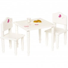 "My Life As 18"" Doll Furniture, Table and Chairs   555784553"