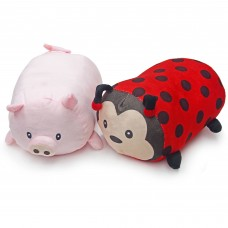 Stackable Animal Pillows, Pig, Lady-Bug   565136172