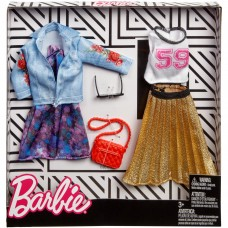 Barbie Fashion Trucker Jacket/Pleated Skirt Fashion 2 Pack   566906436