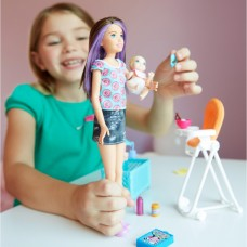 Barbie Skipper Babysitters Inc. Babysitter Playset and Doll   566730000