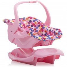 Joovy Toy Infant Car Seat Doll Accessory, Pink   557018212