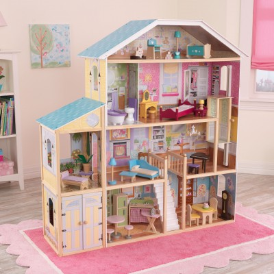 KidKraft Majestic Mansion Dollhouse with 34 Accessories   553959206