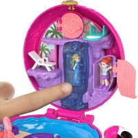 Polly Pocket Pocket Flamingo Floatie Compact   568085320