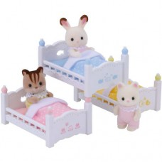 Calico Critters Triple Baby Bunk Beds   563488791