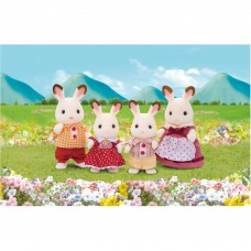 Calico Critters Hopscotch Rabbit Family   555299042