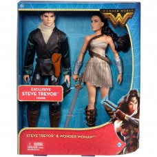 DC Comics Wonder Woman and Steve Trevor Doll 2-Pack   556737590