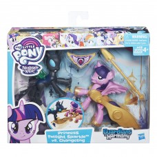 My Little Pony Guardians of Harmony Princess Twilight Sparkle v. Changeling   556595704