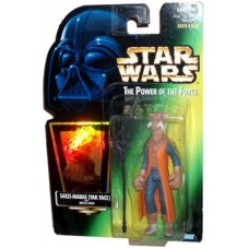 Star Wars Power of the Force POTF2 Collection 2 Saelt-Marae (Yak Face) Action Figure [Hologram Card]