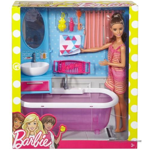 barbie doll amp bathroom furniture 556736456