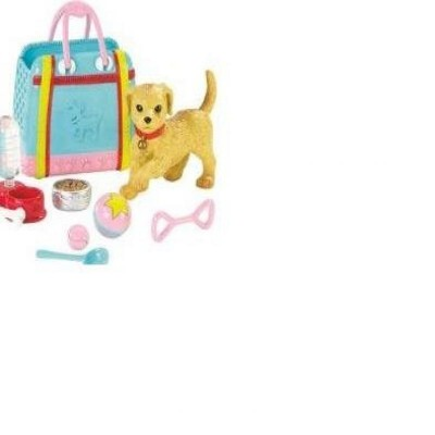 Barbie On-the-Go *Chic Puppy* Set