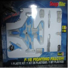 #1389 Revell Snap-Tite F-16 Fighting Falcon 1/100 Scale Plastic Model Kit,Needs Assembly