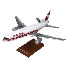 Daron Worldwide Lockheed Martin L-1011 TWA Model Airplane