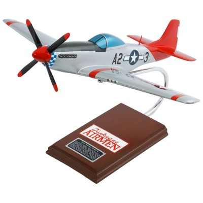 Daron Worldwide P-51D Mustang Tuskegee Airman Model Airplane