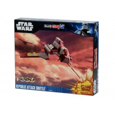 Revell 6672 Star Wars Clone Wars: Republic Attack Shuttle