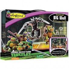 Colorforms Brand Teenage Mutant Ninja Turtles Big Wall Playset