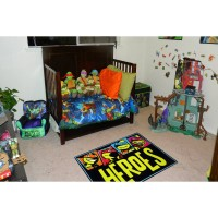 "Fun Rugs Nickelodeon Ninja Turtles Heroes Kids Rugs  39"" x 58"" Rug   554781468"