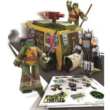 Nickelodeon Teenage Mutant Ninja Turtles Papercraft Vehicle Pack   552999762