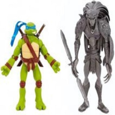 Teenage Mutant Ninja Turtles Movie Action Figure Two-Pack, Gato vs. Leo