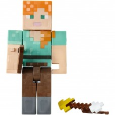 Minecraft Arrow Firing Alex Action Figure 6+