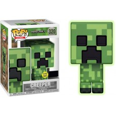 Minecraft Funko POP! Video Games Creeper Vinyl Figure [Glow-in-the-Dark]