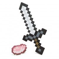 Minecraft Iron Sword & Porkchop Foam Adventure Kit