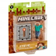 Minecraft Series 3 Wave 1 Steve with Minecraft Pack   556209899