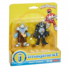 Imaginext Power Rangers Squat & Baboo   557965146