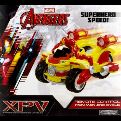 Marvel Avengers Remote Control Iron Man Arc Cycle, 1.0 CT