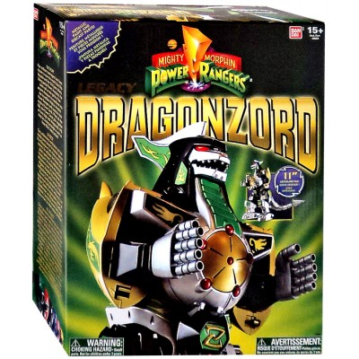 Power Rangers Legacy Series Legacy Green Dragonzord Action Figure