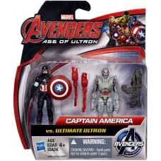 Captain America vs Ultimate Ultron Action Figure 2-Pack Marvel   553894988