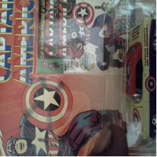 Johnny Lightning Marvel Comics Captain America 1956 Chevy Convertible
